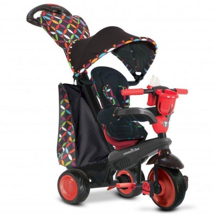 Детский велосипед Smart Trike Boutique 4 в 1 (Черно-красный)