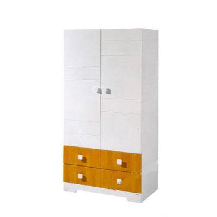Шкаф Micuna A-1412 Белый с медовым