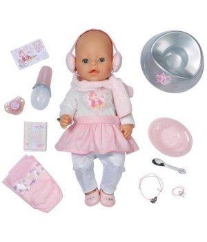 Интерактивная кукла ZAPF Baby Born - Зимняя красавица