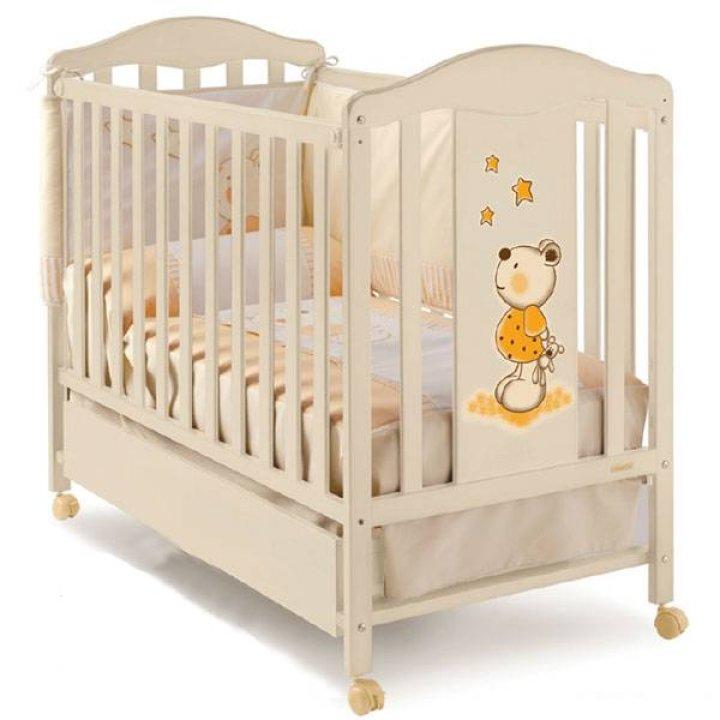 Детская кроватка Micuna Tic-Tac Слоновая кость