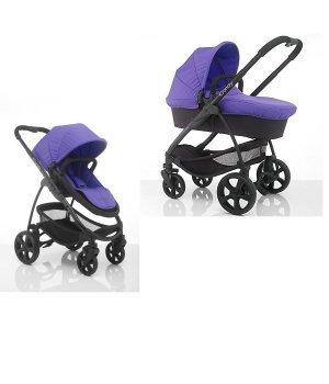 Универсальная коляска 2 в 1 iCandy Strawberry 2 PRISM Фиолетовая