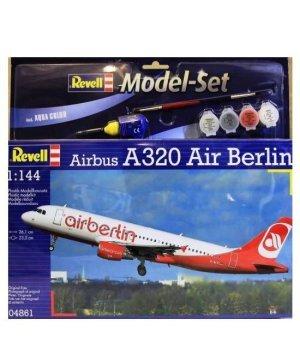 Конструктор 1:144 Revell Model Set Аэробус Airbus A320 AirBerlin