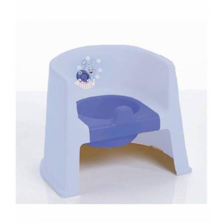 Горшок Geoby P800 Blue (Голубой)
