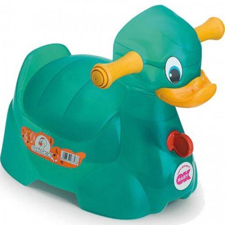 Горшок OK Baby Quack Бирюзовый