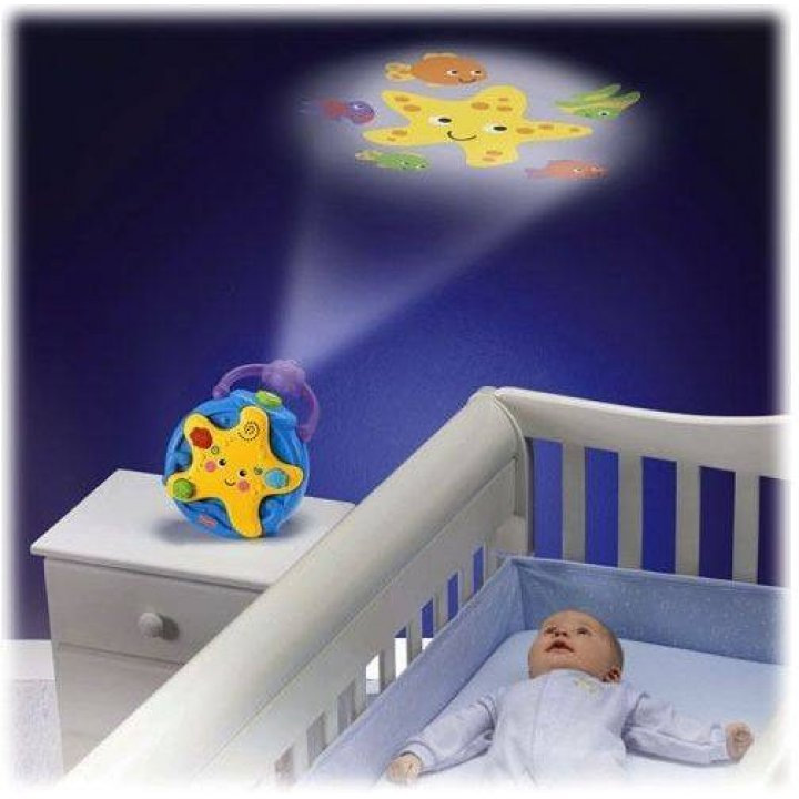 Ночник-проектор Fisher-Price Морская звездочка