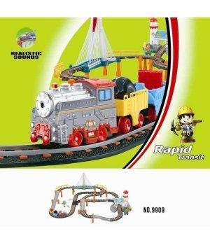 Железная дорога с поездом LiXin (101х88см)