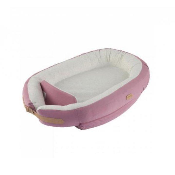 Кокон для сна новорожденного Voksi Baby Nest Light Pink