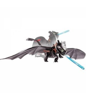 Игрушка детская Spin Master Как приручить дракона (32 см) Беззубик, плюющийся ракетами