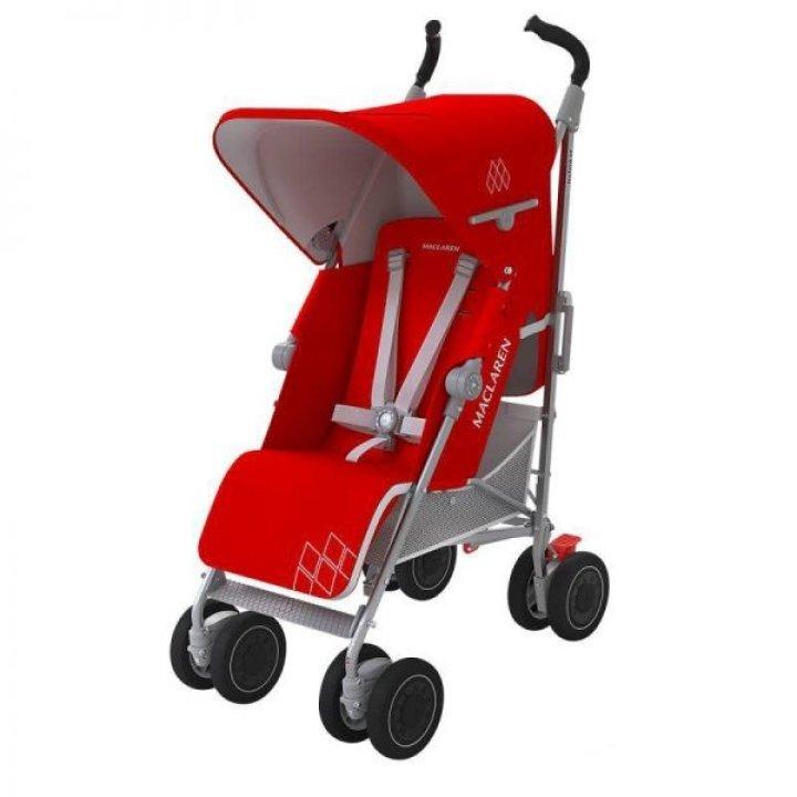 Прогулочная коляска Maclaren Techno XT Cardinal/Silver 2016