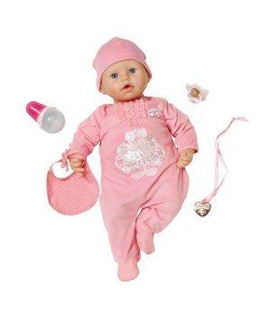 Интерактивная кукла ZAPF BABY ANNABELL - НАСТОЯЩАЯ МАЛЮТКА
