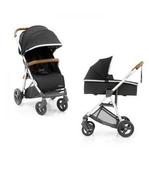 Универсальная коляска 2 в 1 BabyStyle Oyster Zero Black