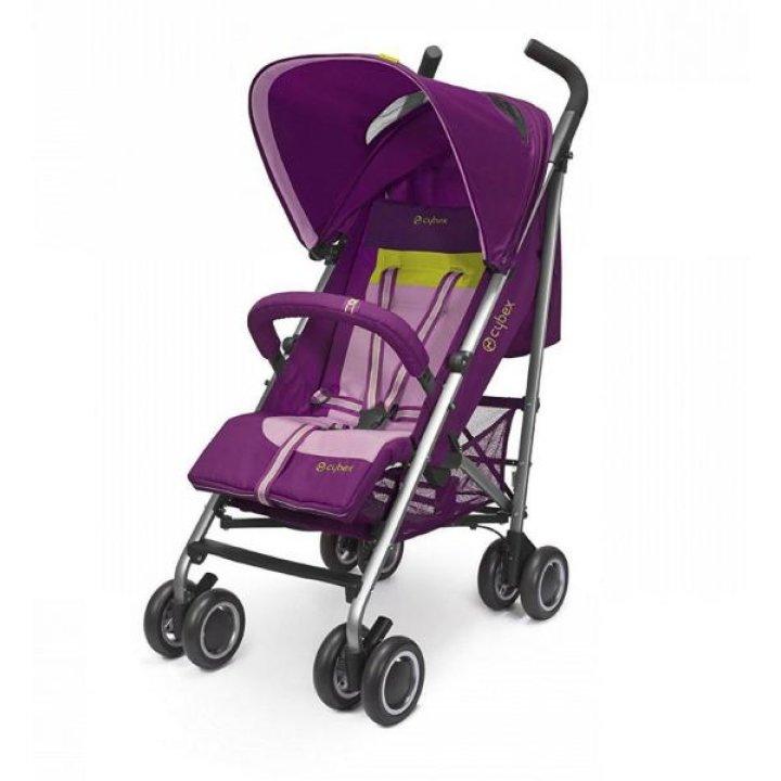 Прогулочная коляска трость Cybex Onyx Violet Spring pink