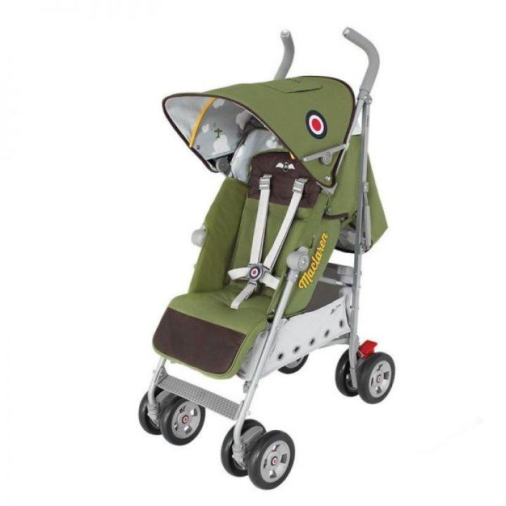 Прогулочная коляска-трость Maclaren Ryder Spitfire Зеленый