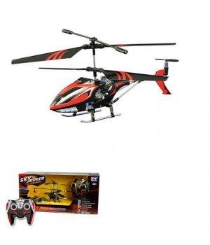 Вертолет на ИК-управлении Auldey Lightening Falcon 20 см с гироскопом красный
