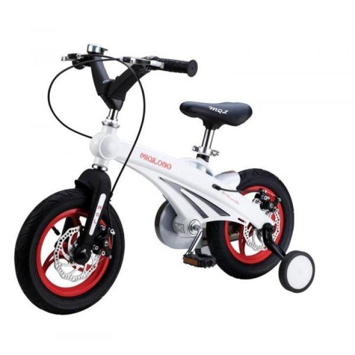 Детский велосипед Miqilong GN Белый 12