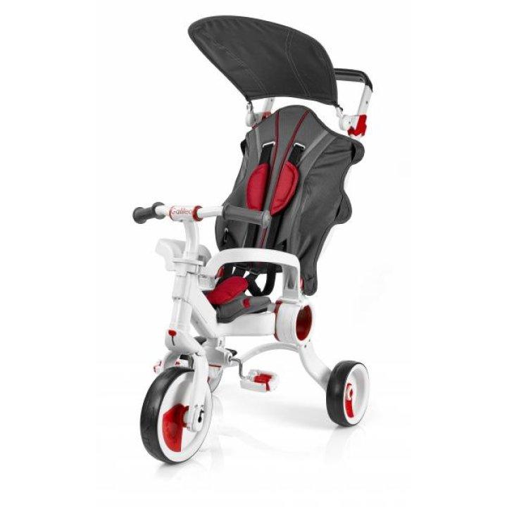 Трехколесный велосипед Galileo Strollcycle  4в1 Красный