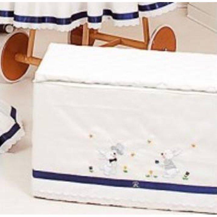 Ящик Ruggeri Coniglietto Белый с синим