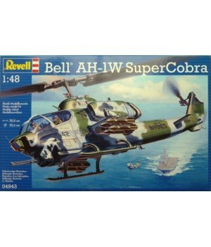Вертолет Bell AH-1W SuperCobra; 1:48, Revell