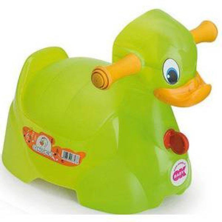 Горшок OK Baby Quack Салатовый