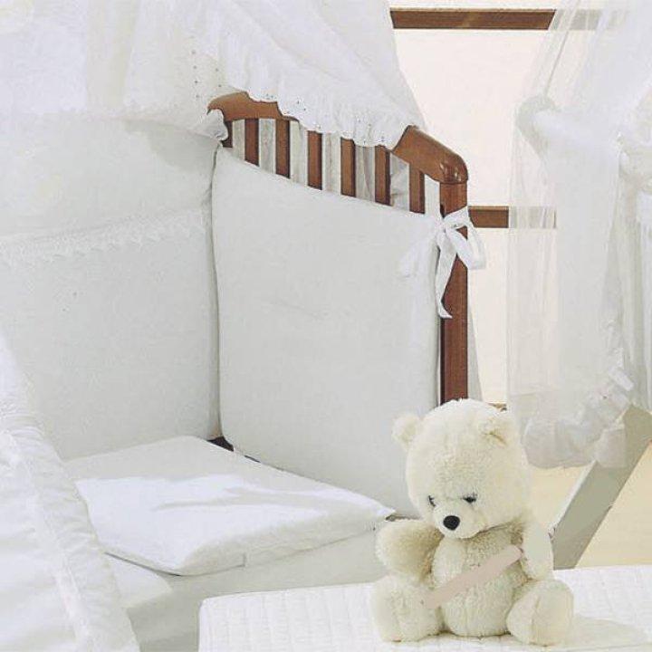 Защита для кроватки Ruggeri SOGNI DORO белый