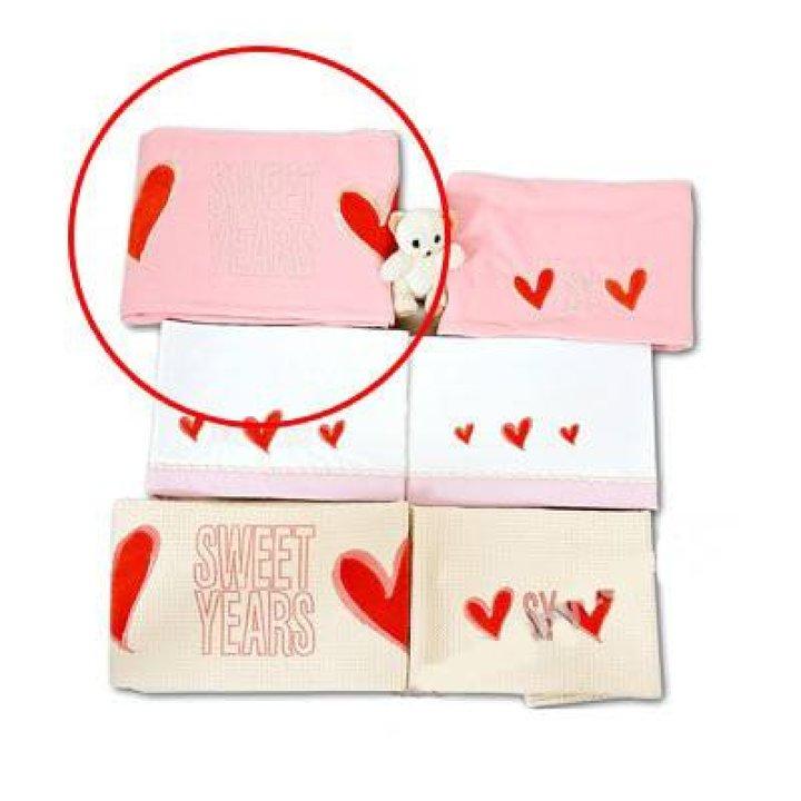Одеяло в кроватку Sweet Years Patch Розовый