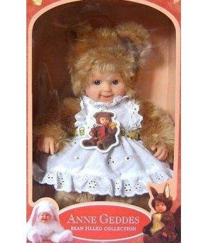 Кукла Anne Geddes Медвежонок Девочка