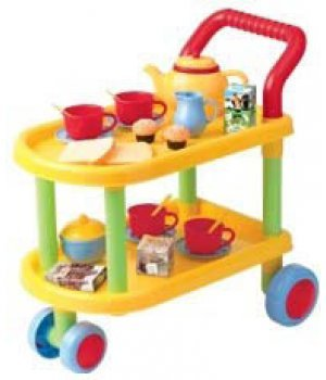 Набор для чаепития, с тележкой, PlayGo