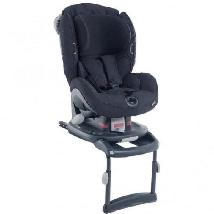 Автокресло BeSafe iZi Comfort X3 Isofix Fresh Black Cab Черное