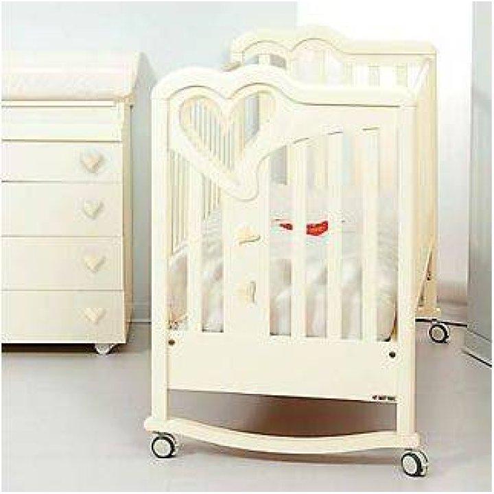 Детская кроватка Sweet Years Nanna Слоновая кость