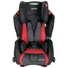 Автокресло RECARO Young Sport P.Bellini cherry/black