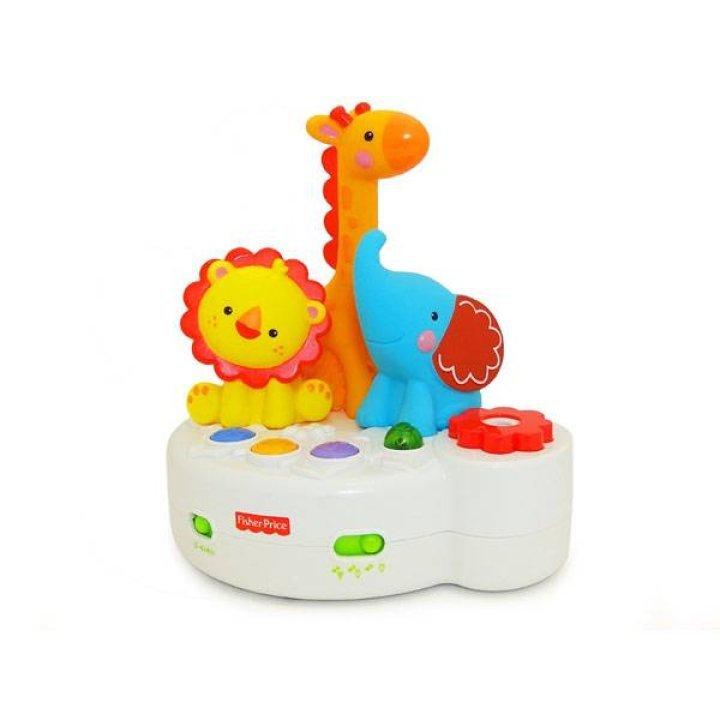 Детский ночник-проектор музыкальный Fisher-Price (с пультом управления 4 в 1)