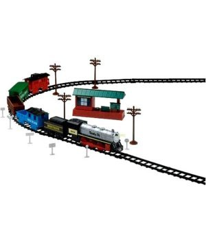 Железная дорога EZ-Tec Санта Фе специальный экспресс