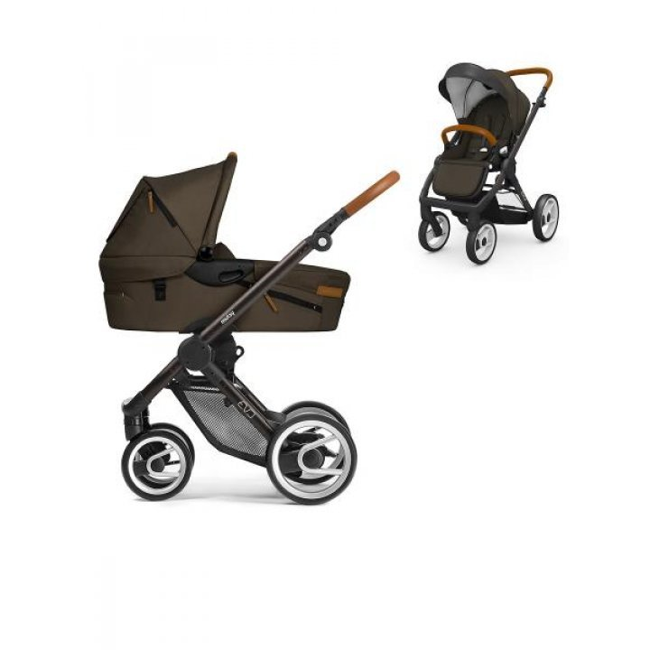 Универсальная коляска Mutsy 2 в 1 EVO Urban Nomad Dark Olive / Industrial Black Brown
