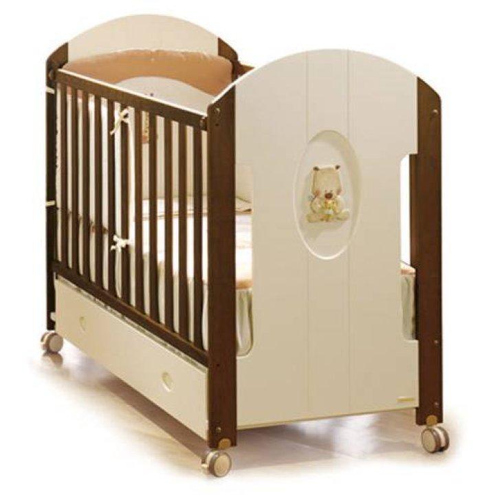 Детская кроватка Micuna Gugu Слоновая кость/Шоколад