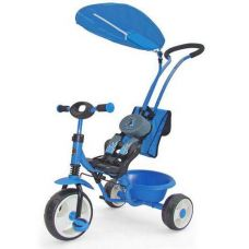 Велосипед Milly Mally Boby Deluxe blue