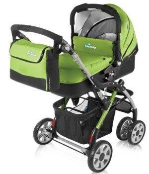 Универсальная коляска 2 в 1 Baby Design Sprint Plus 2012 04