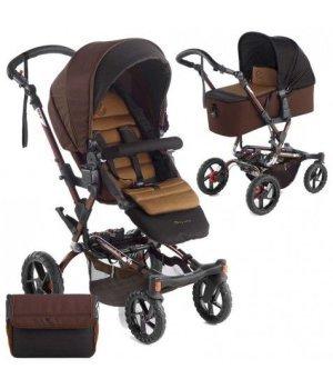 Детская коляска 2 в 1 Jane CROSSWALK MICRO S52 Brown 2016 (Коричневая)