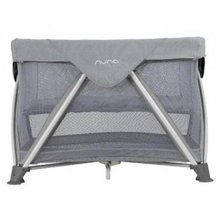 Манеж кроватка Nuna Sena Air Oxford Светло-серый