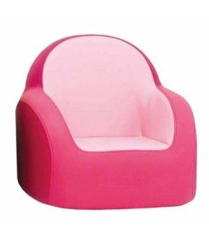 Мягкое детское кресло Dwinguler Sofa (475x485x450 мм) Cherry Pink