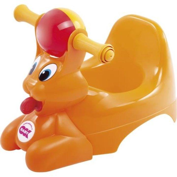 Горшок-игрушка OK Baby Spidy Оранжевый