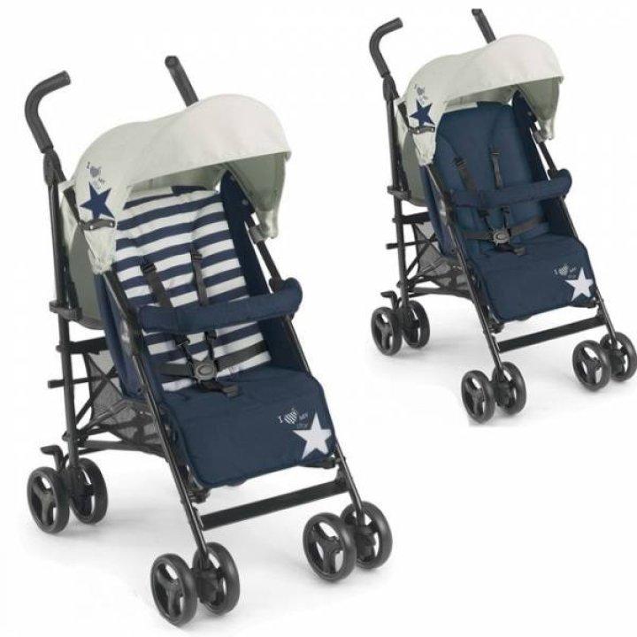 Прогулочная коляска Cam Flip 80 (Blue/Beige) 2016