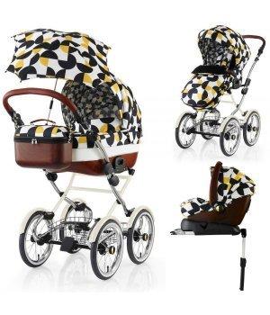 Классическая коляска 3 в 1 Cosatto Wonder Hepburn