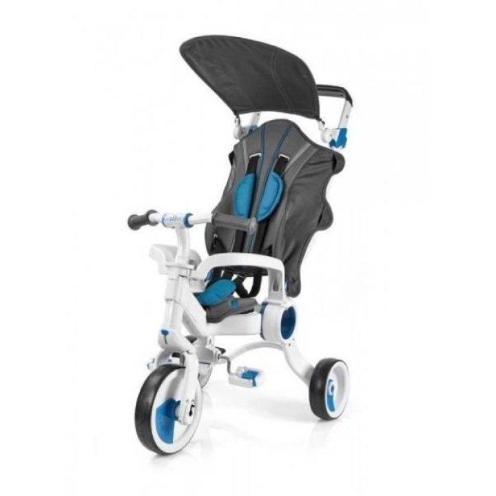 Трехколесный велосипед Galileo Strollcycle  4в1 Синий