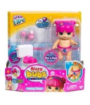 Интерактивная кукла Moose Bizzy Bubs Chloe Приучаем к горшку