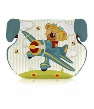 Автокресло Bertoni Teddy Aquamarine pilot bear