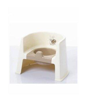 Горшок Geoby P800 White (Бежевый)