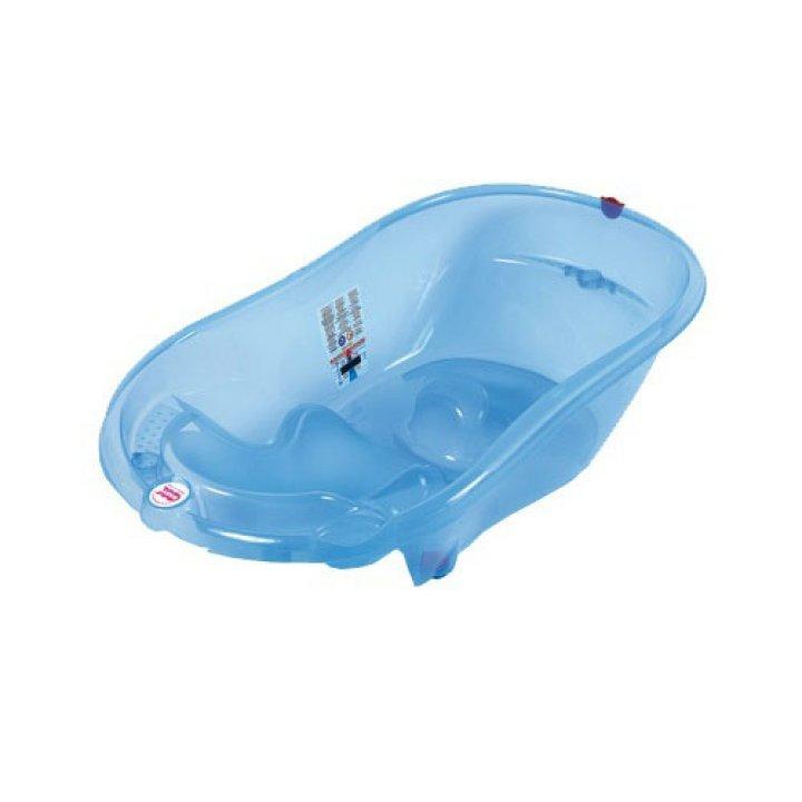 Ванночка для купания OK Baby Onda синий