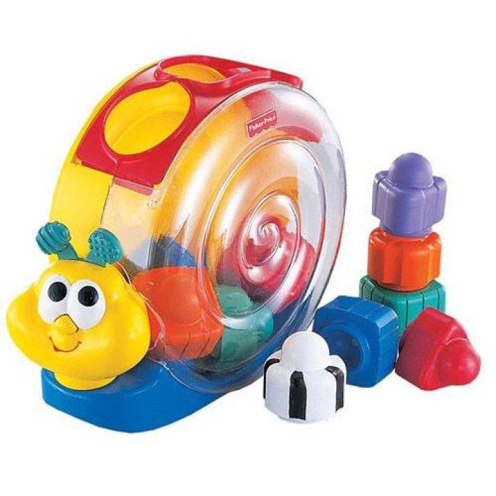 Музыкальная игрушка Fisher-Price улитка