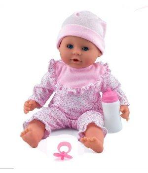 """Пупс Dolls World  """"Моя жемчужинка"""" в розовом (38см) (5018621081020)"""