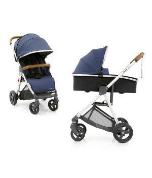 Универсальная коляска 2 в 1 BabyStyle Oyster Zero Oxford Blue